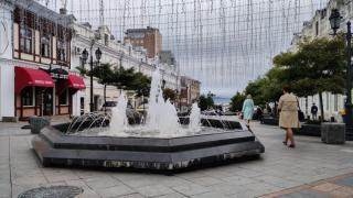 Фото: PRIMPRESS   В октябре фонтаны Владивостока уйдут на «зимовку»