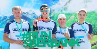Сотрудники Сбербанка приняли участие в марафоне «Мосты Владивостока»