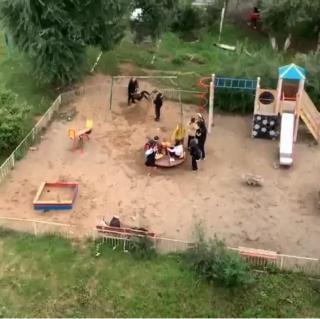 Фото: @artem.news.plus   Приморцы обсуждают хамское поведение детей на площадке