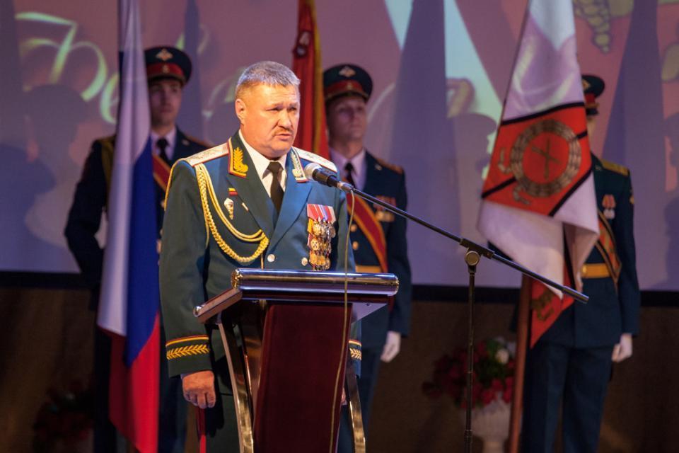 Акция памяти погибшего вСирии генерала Асапова проходит вПриморье