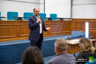 Фото: Анастасия Котлярова / vlc.ru   Глава Владивостока провел встречу с руководителями общественных организаций