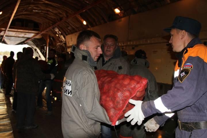 Гуманитарная помощь сКамчатки прибыла вПриморье