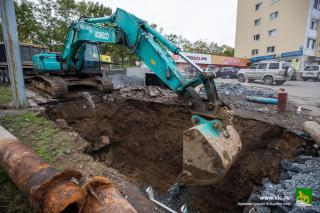 Фото: vlc.ru | Во Владивостоке продолжается подготовка к отопительному сезону