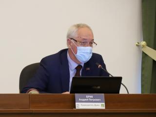 Фото: dumavlad.ru | У председателяДумы города Владивостока АндреяБрика подтвердился коронавирус
