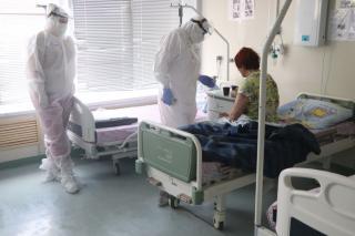 Фото: Екатерина Дымова / PRIMPRESS | В Приморье третий месяц подряд ежесуточно выявляется более 200 новых случаев COVID-19