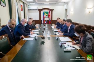 Фото: Анастасия Котлярова / vlc.ru   Владивосток и Республика Беларусь обсудили вопросы сотрудничества