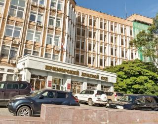 """Фото: скриншот """"Яндекс.Карты""""   Во Владивостоке из здания краевого суда эвакуировали около 50 человек"""
