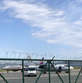 Фото: PRIMPRESS | Шесть человек улетели первым авиарейсом Владивосток – Советская Гавань