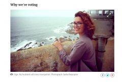 Фото: The Guardian | Жительница Владивостока, готовая преодолеть 500 км ради выборов, впечатлила The Guardian