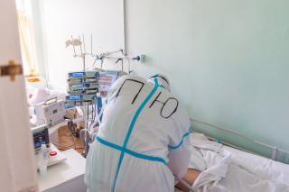 Фото: Илья Аверьянов   Глазами медперсонала: как приморские специалисты работают в «красной зоне»