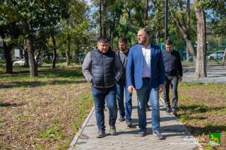 Фото: Анастасия Котлярова/vlc.ru   Во Владивостоке продолжится благоустройство популярного у горожан места отдыха