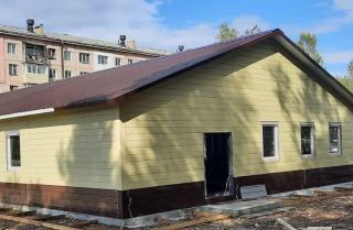 Фото: primorsky.ru   К концу года в Дальнегорске достроят две амбулатории почти на 12 тысяч человек