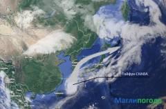Фото: maglipogoda.ru | Метеоэксперт уточнил, как тайфун «Чаба» повлияет на погоду в Приморье
