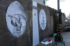Фото: Администрация города Владивостока | История Владивостока появится на одной из подпорных стенок города