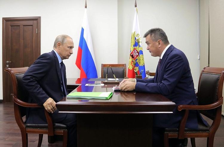 ВРИО губернатора Приморского края назначен Андрей Тарасенко