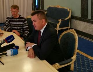 Миклушевский в прямом эфире (видео)