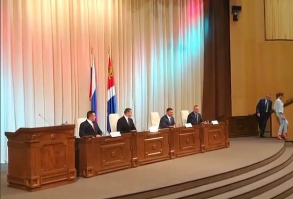 В администрации Приморского края представлен новый руководитель