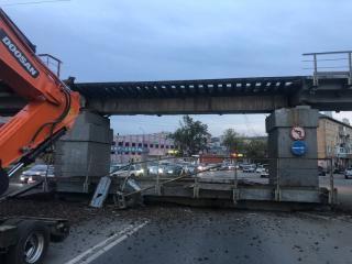 Фото: 25.мвд.рф   Во Владивостоке привлечен к ответственности виновник обрушения ж/д моста