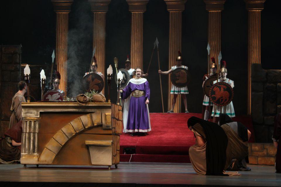 «Царя Эдипа» впервые в этом сезоне покажут в театре им. М. Горького