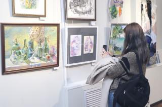 Фото: Екатерина Дымова / PRIMPRESS   «Арт-Владивосток» в Приморском отделении Союза художников России открылась выставка-конкурс