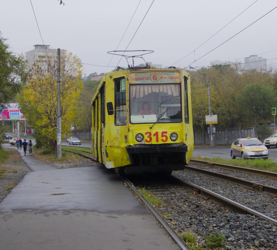 Владивостокский трамвай отмечает свое 105-летие в плачевном состоянии