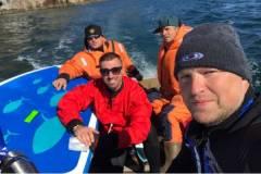 Фото: ДВРПСО МЧС России   В Приморье sup-серферов унесло на необитаемый остров