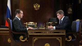 Фото: government.ru | Медведев предложил Кожемяко разработать комплексный план по защите Приморья от наводнений