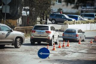 Во Владивостоке на улице Станюковича, где ранее обвалилась дорога, откроют движение