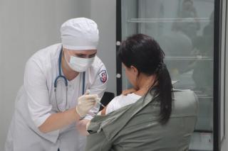 Фото: PRIMPRESS   Студенты ТГМУ активно вакцинируются от коронавирусной инфекции