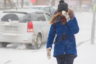 Фото: PRIMPRESS   Первый в сезоне снегопад обрушится на часть Приморья