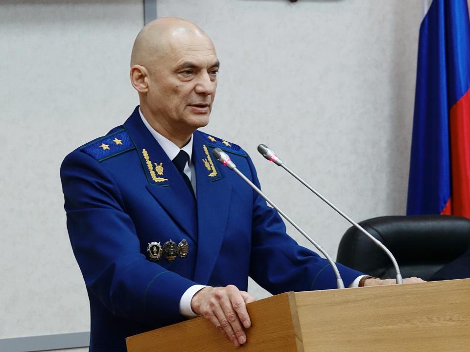 Согласована кандидатура нового прокурора Приморского края