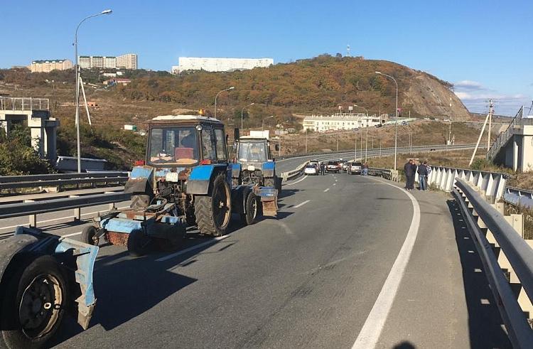 Движение на трассе Седанка – Патрокл во Владивостоке открыто