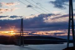 Фото: Татьяна Меель | Мосты Владивостока попали в кадры клипа известной группы