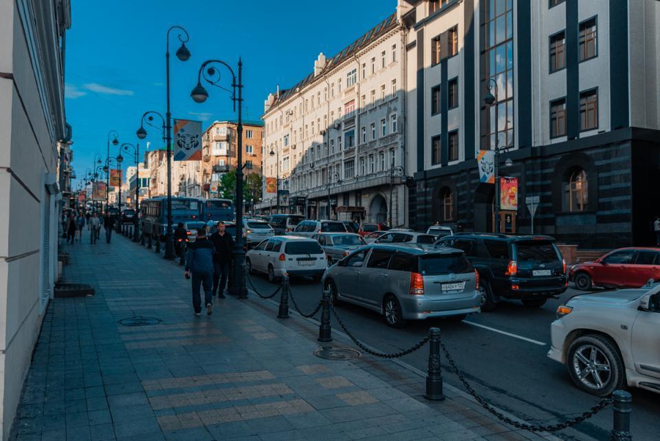 Профессионалы составили топ пробок воВладивостоке за минувшую рабочую неделю