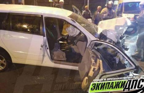 Обе ноги сломал мужчина в ДТП в Приморье