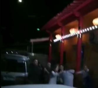 Прошедшей ночью вПартизанске произошла массовая пьяная драка
