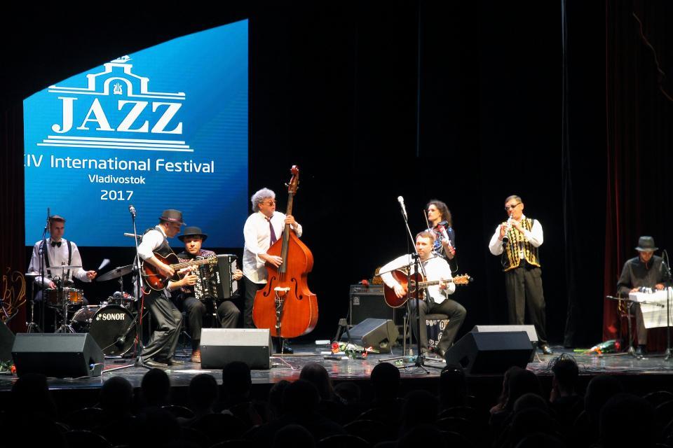 Владивосток снова в ритме джаза!