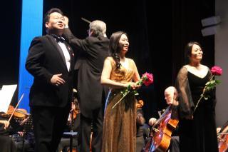 Фото: Андрей Горбонос   Корейские музыканты выступили на Фестивале культур стран Азиатско-Тихоокеанского региона во Владивостоке