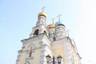 Фото: PRIMPRESS | «Работает спецназ»: странное видео из главного храма Владивостока слили в Сеть