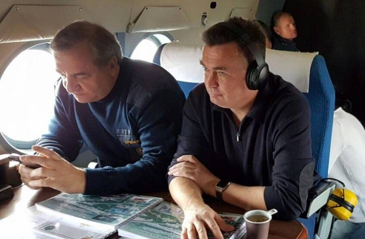 Министр МЧС игубернатор Приморья изучат ситуацию вселе Вострецово