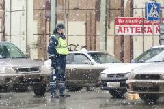 Фото: Конкурент | Около 200 аварий произошло во Владивостоке после снегопада