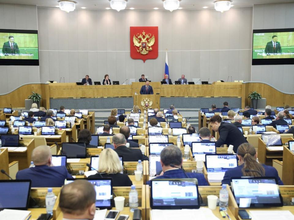 Председатель Заксобрания Приморья выступил с законодательной инициативой в Госдуме