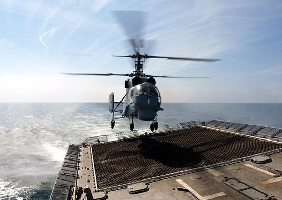 Шесть корабельных вертолетов Ка-29 прибыли вПриморье после ремонта