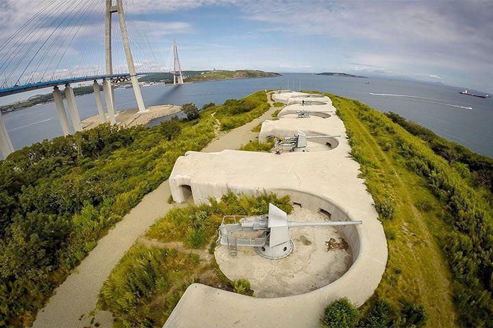 Путин одобрил создание федерального музея-заповедника на базеВладивостокскойкрепости