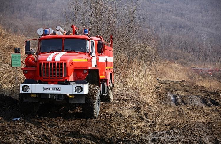 ВПриморье снят введенный из-за пожаров режимЧС