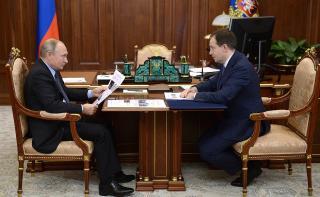 Владивосток «отличился» на встрече Мединского с Путиным