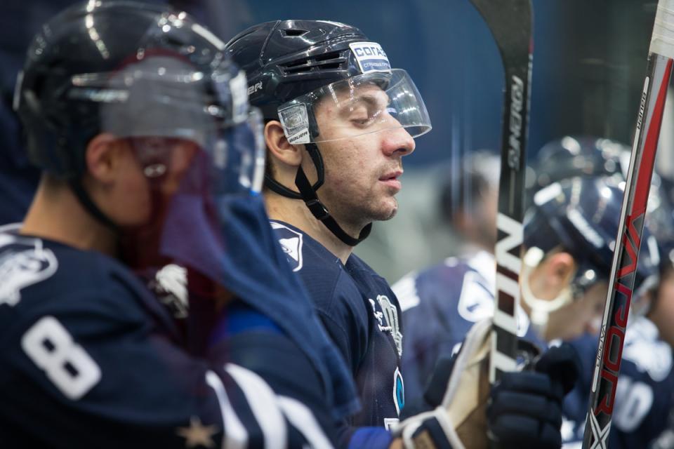 Матч с чемпионом КХЛ завершился поражением «Адмирала»