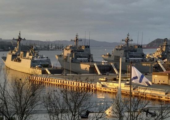 Военные корабли Южной Кореи покинули Владивосток