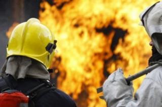Фото: 25.mchs.gov.ru   В Приморье во время крупного пожара пострадал пенсионер