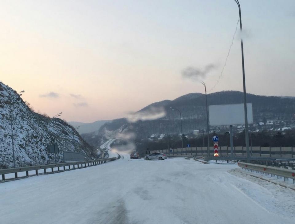 ВоВладивостоке из-за снежного циклона внесены ограничения движения транспорта